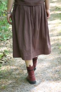 gammaldags kjol