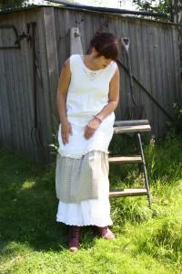 förklädesklänning