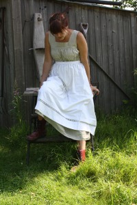gammaldags kläder