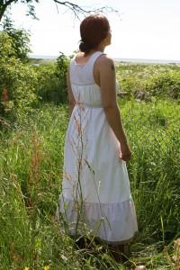 romatisk klänning