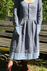 folkloreklänning
