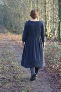 gammaldags klänning