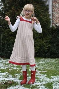 gammaldags klänning barn